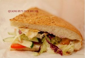 Chiếc bánh mì được làm từ Xe bánh mì thổ nhĩ kỳ 1m2