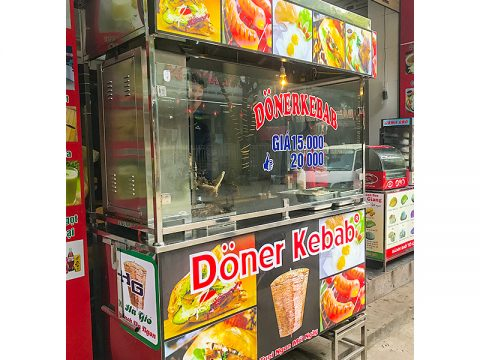 Quá sáng suốt khi chọn chiếc xe bánh mì Thổ Nhĩ Kỳ 1m8 để khởi đầu kinh doanh