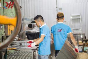 Xưởng chế tạo inox Quang Huy
