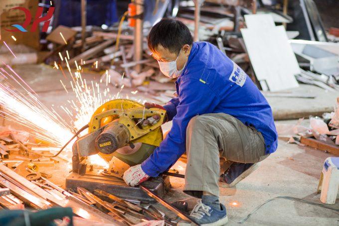xưởng chế tạo cơ khí Quang Huy