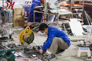 Quang Huy tuyển chọn đội ngũ công nhân nhiều năm kinh nghiệm