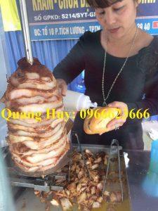QUANG HUY chuyên bán thịt bánh mì doner kebab chuẩn hương vị Thổ Nhĩ kì