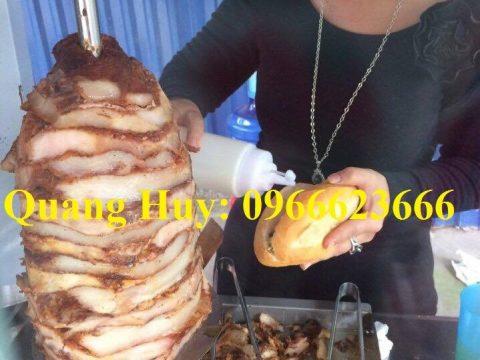Bán thịt bánh mì Doner Kebab chuẩn vị Thổ Nhĩ Kỳ ai cũng mê