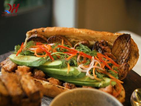 cách ướp thịt bánh mỳ doner kebab