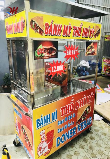Xe bán bánh mỳ giá bao nhiêu 2