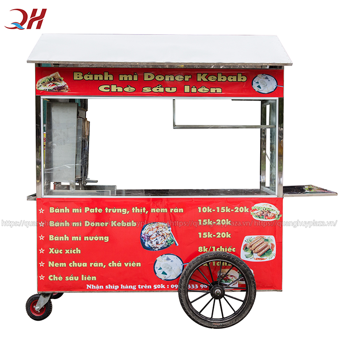 Xe bánh mì thổ nhĩ kỳ 1m8 được sản xuất và phân phối bởi Quang Huy