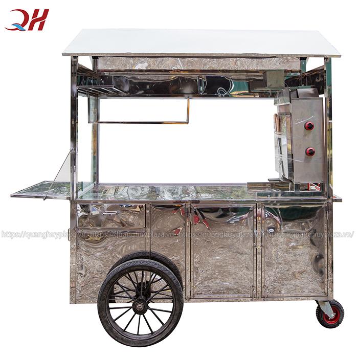 Sản phẩm được thiết kế chắc chắn với bánh xe bò tiện lợi trong di chuyển