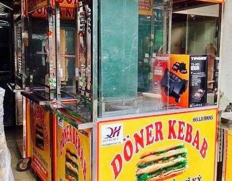 Sự tiện lợi mà xe bánh mì Thổ Nhĩ Kỳ 1m mang lại cho người sử dụng