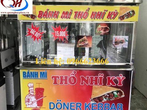 Cách lắp đặt và sử dụng xe bánh mì Thổ Nhĩ Kỳ cực kì đơn giản