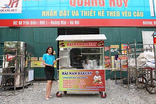 Tủ bánh mì Quang Huy chính hãng