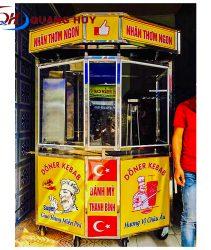 Xe bánh mỳ Thổ Nhĩ Kỳ lục giác 1,3m – thiết kế kiểu mới của dòng xe bánh mỳ Thổ Nhĩ Kỳ