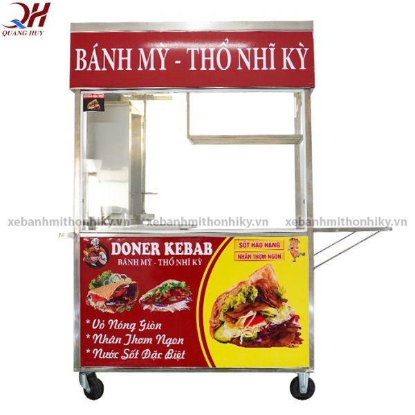 Xe bánh mì thổ nhĩ kỳ 1m5 sản xuất tại Quang Huy