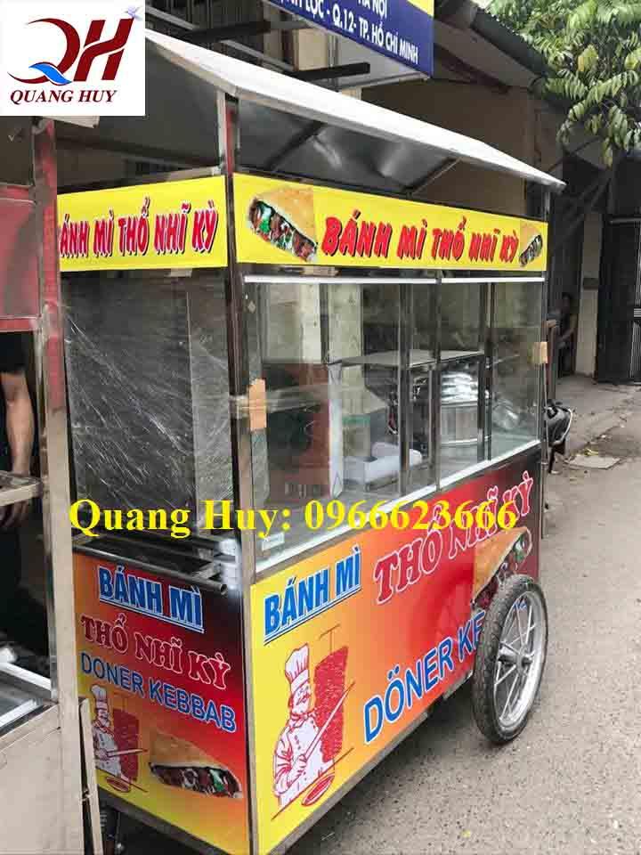 Mẫu xe bán xôi bán bánh mì đa di năng được nhiều người tin dùng