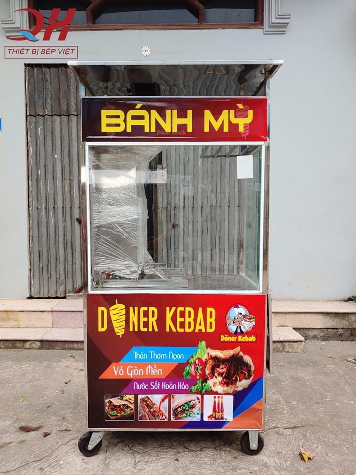Thế kế xe bánh mì Thổ Nhĩ Kỳ mini