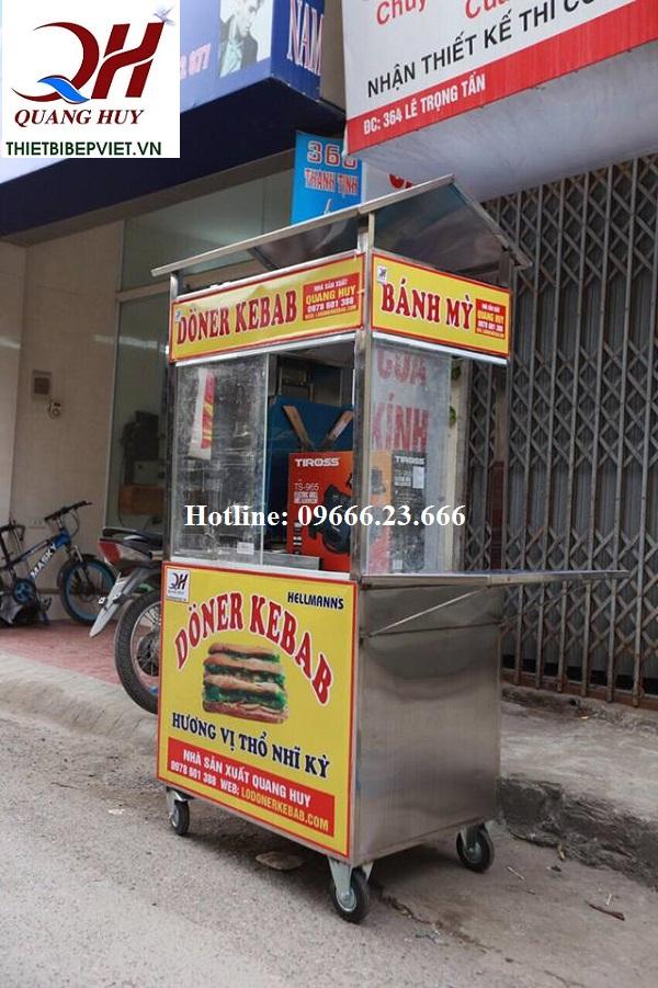 Thiết kế nhỏ gọn của xe bánh mì Thổ Nhĩ Kỳ Quang Huy
