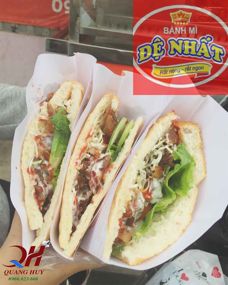 Ổ bánh mì Doner kebab Đệ Nhất nức tiếng Đà Nẵng