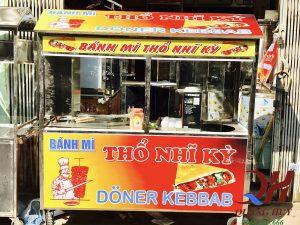 Xe bánh mì Thổ Nhĩ Kỳ Quang Huy
