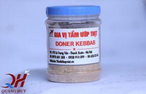 Hộp gia vị Doner Kebab - cách làm Doner Kebab ngon đúng chuẩn