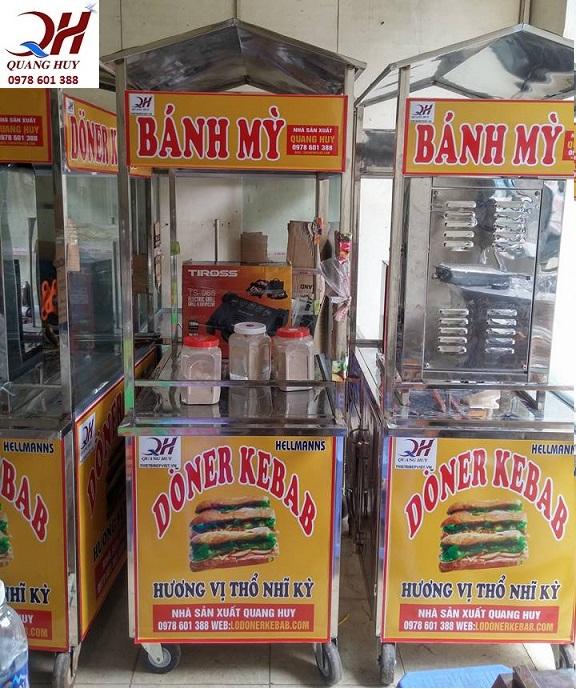 Quang Huy thanh lí toàn bộ sản phẩm xe bánh mì Thổ Nhĩ Kỳ mini