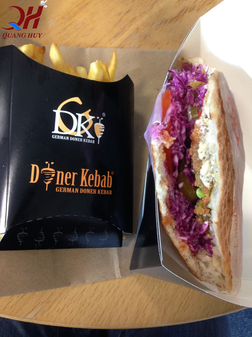 Thương hiệu German Doner kebab nổi tiếng tại Đức