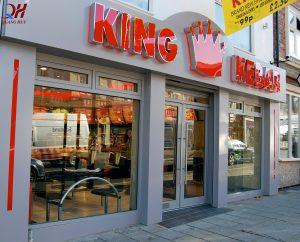 Cửa hàng King Kebab tại Đức với không gian sang trọng