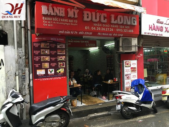 Không gian tiệm bánh mì nổi tiếng Doner kebab Đức Long