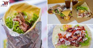 Món bánh mì Doner kebab được nhiều người yêu thích và thưởng thức mỗi ngày