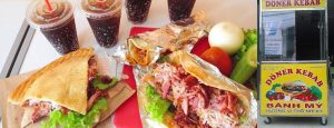 Tha hồ thưởng thức món Doner kebab ngon bậc nhất