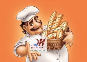 Cùng Quang Huy tạo nên cách làm bánh mì tam giác ngon xuất sắc