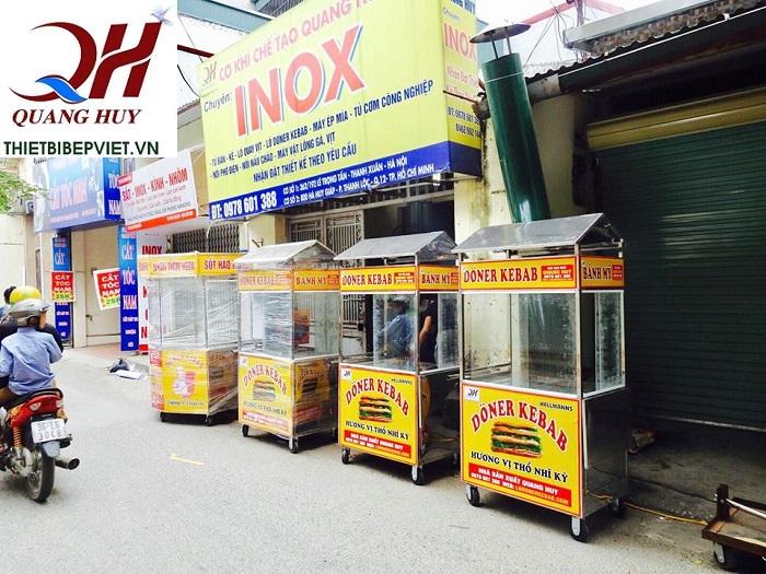 Những mẫu xe bánh mì Thổ Nhĩ Kỳ Quang Huy hoàn toàn mới