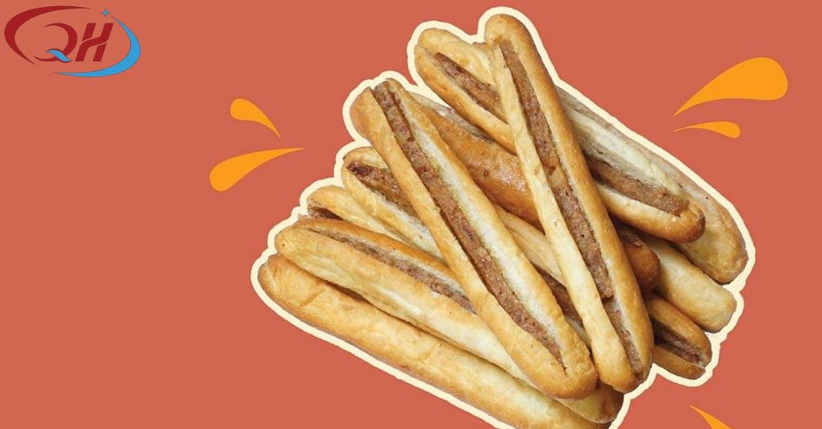 Làm chiếc bánh mì que khá đơn giản