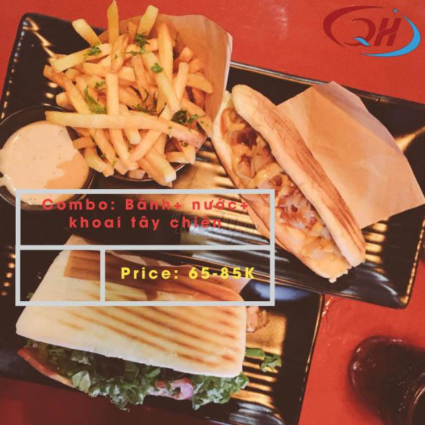 Combo Doner kebab đầy đủ tại Kebab & Co