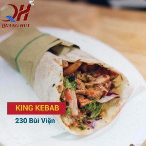 King kebab xứng đáng là vua bánh mì Thổ Nhĩ Kỳ