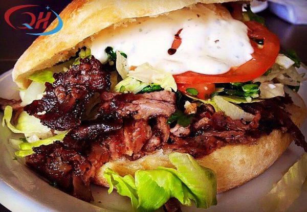 Bánh mì doner kebab Hà Nội