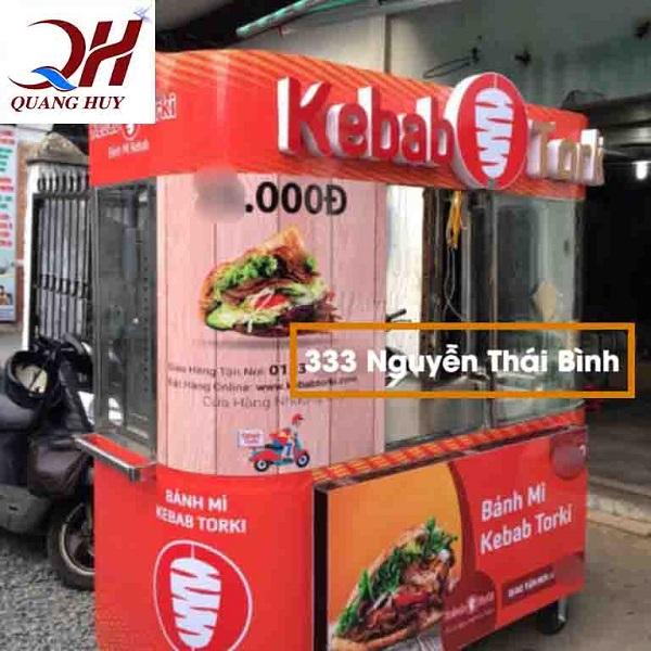 Thương hiệu Kebab Torki không nổi tiếng trên khắp cả nước không chỉ riêng quận Tân Bình