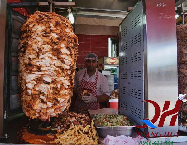 Học làm bánh mì doner kebab