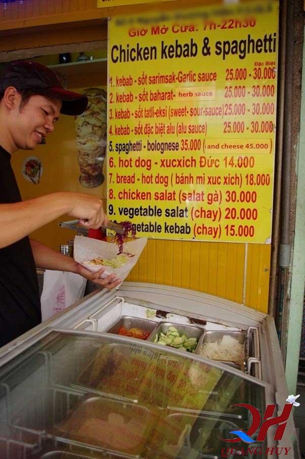 Doner kebab có giá bình dân mà ai cũng có thể thưởng thức