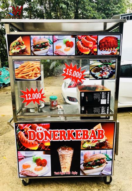 Bạn có thể tham khảo mẫu xe bánh mì mới nhất tại Quang Huy