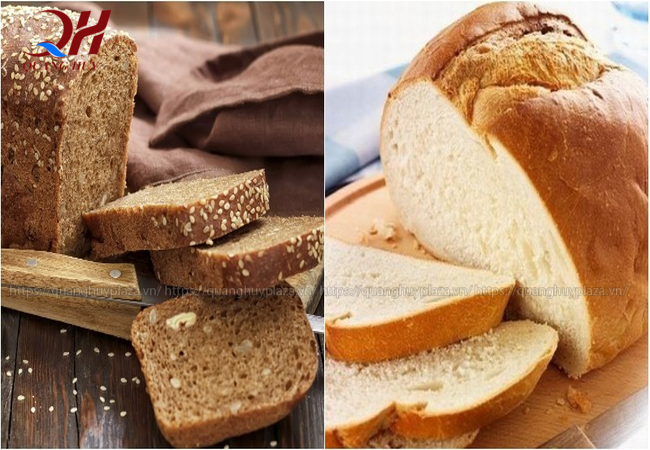 Bánh mì đen có hàm lượng chất béo thấp hơn rất nhiều so với bánh mì trắng