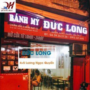 Doner kebab Đức Long nức tiếng trên phố Lương Ngọc Quyến