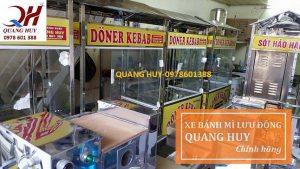 Thương hiệu xe bánh mì Quang Huy chính hãng được người dùng tin cậy