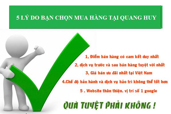Những lý do nên lựa chọn Quang Huy