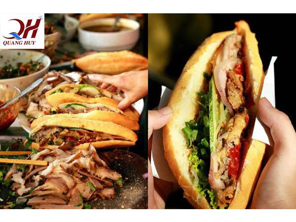 Bánh mì thịt ngon ở Sài Gòn