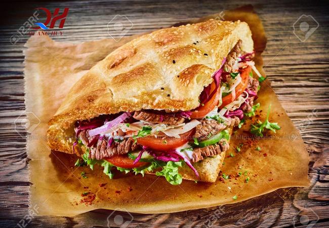 Máy ép bánh mì có thể làm nóng nhiều loại bánh mì khác nhau