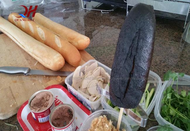 Nếu nướng không đúng và chuẩn thì bánh mì dễ bị cháy đen