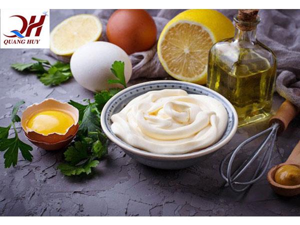 Nguyên liệu làm nước sốt mayonaise gồm những gì?