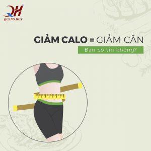 Giảm cân bằng cách giảm hấp thu lượng Calo. Bạn có biết?