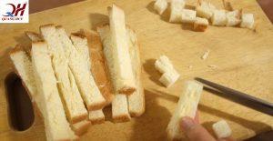 Cắt nhỏ bánh mì làm vụn bánh mì nhanh chóng