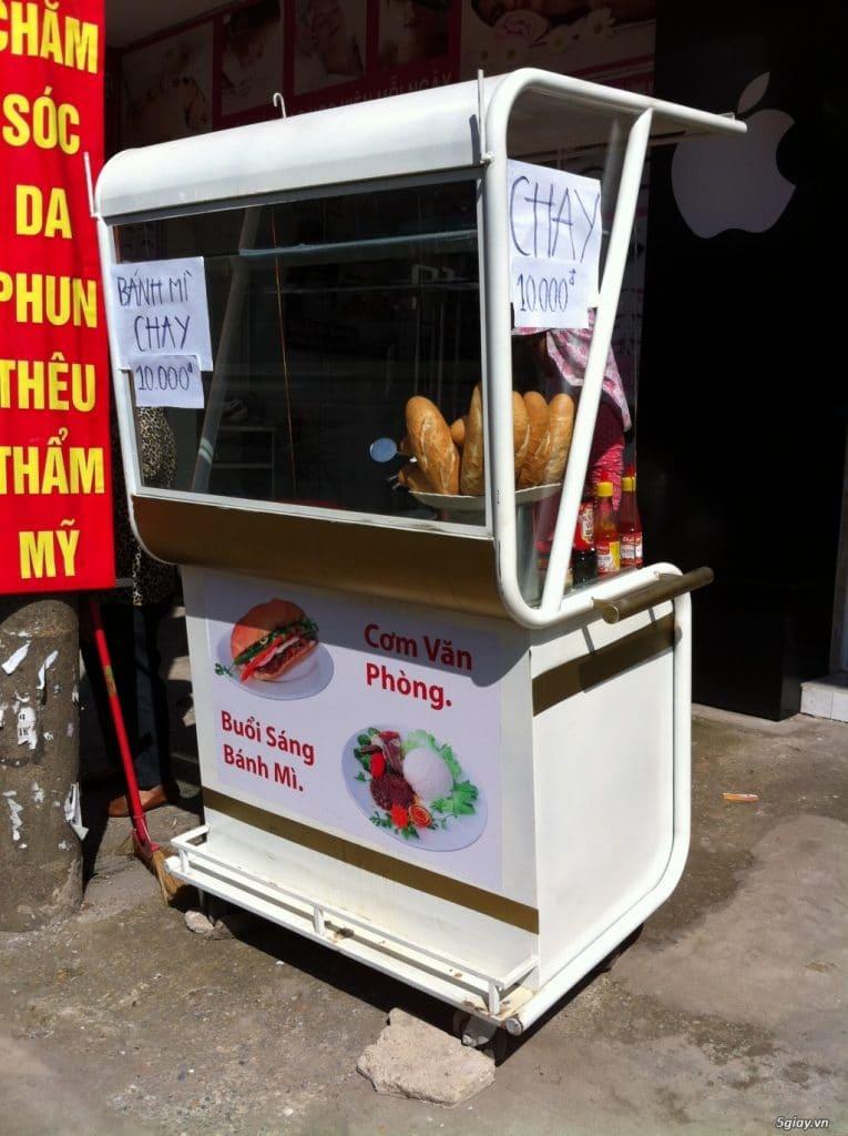 Chi phí mở quán bán bánh mì