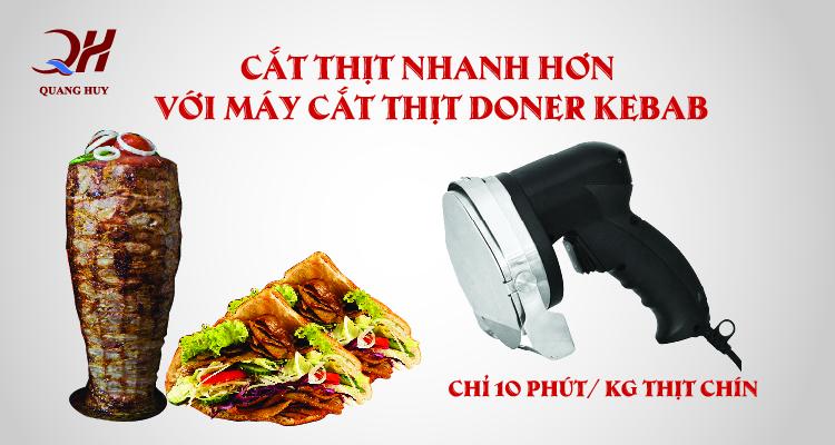máy cắt thịt Domer Kebab